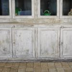 French Antique Display Cabinet-11