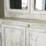 French Antique Display Cabinet-1