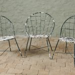 Stylish 60's Garden Chairs