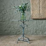 Blue Arras Side Table-7