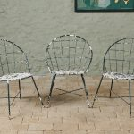 Stylish 60's Garden Chairs-8