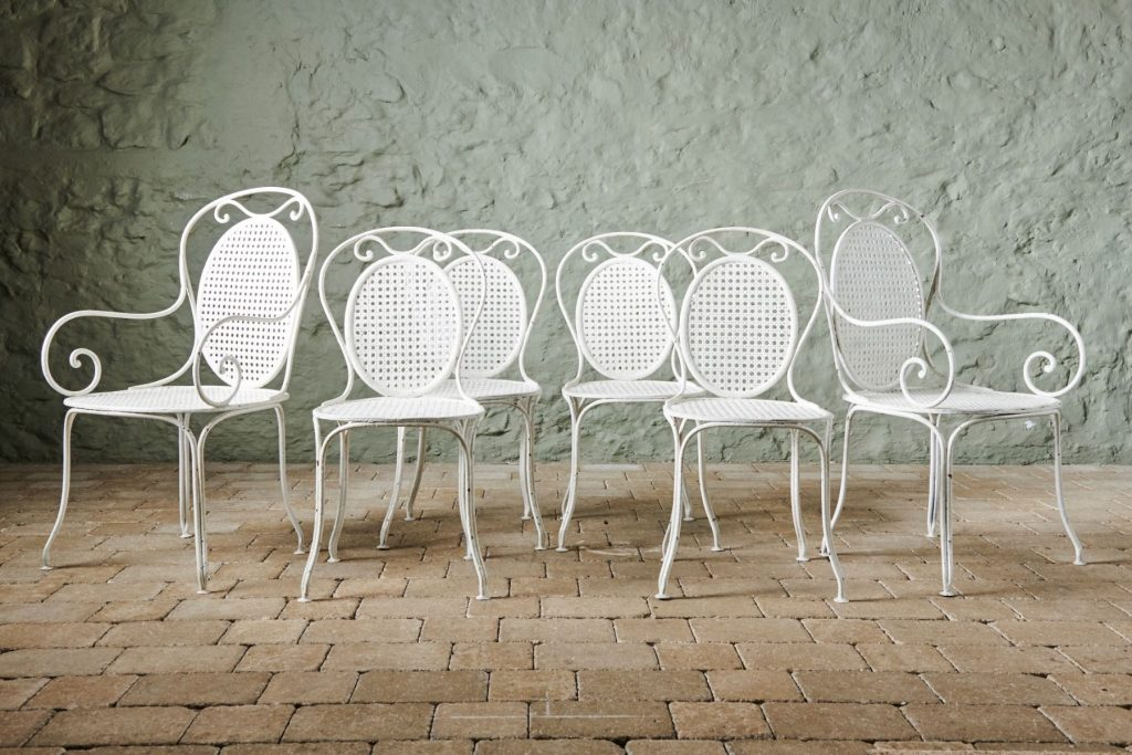 Set of 6 1930's Dining Chairs