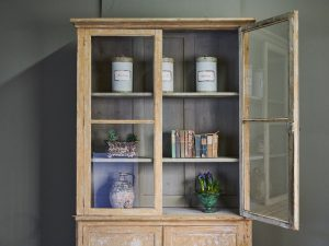 Antique bookcase from Violet Grey Decorative antiques