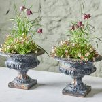Pair of Blue Urns