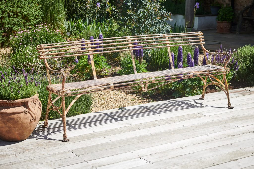 Late 19th Century Arras Bench