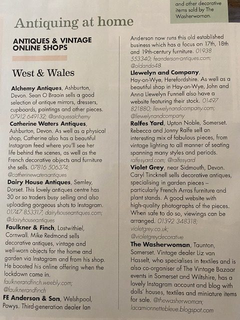 Feature Home & Antiques Magazine feature