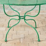 Green Oval Table-2