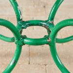 Green Oval Table-3