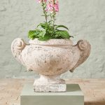 Large Pair of Stone Planters-2