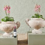 Large Pair of Stone Planters-7