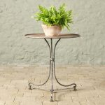Tilting 18th century Side Table-2