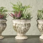 Set of 3 Fluted Planters