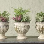 Set of 3 Fluted Planters-1
