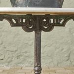 Round Marble Table-9