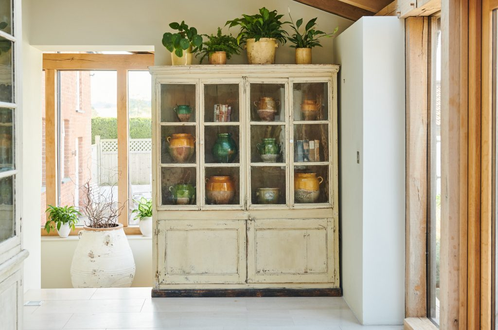 Painted-french-bookcase/