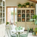 Painted French Bookcase-14