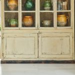 Painted French Bookcase-3