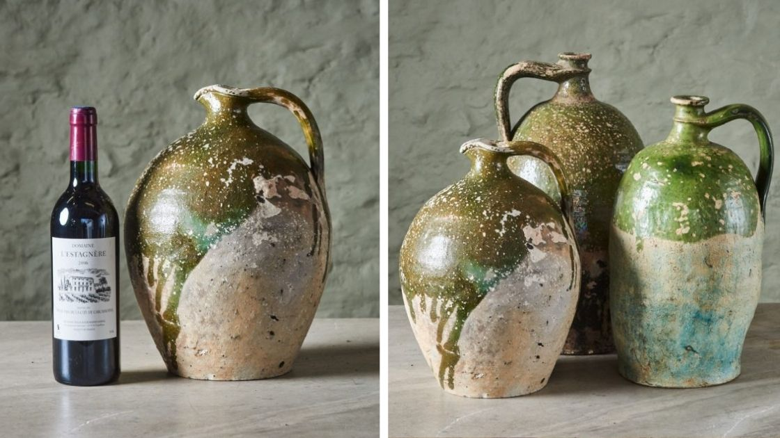 antique oil jars 2