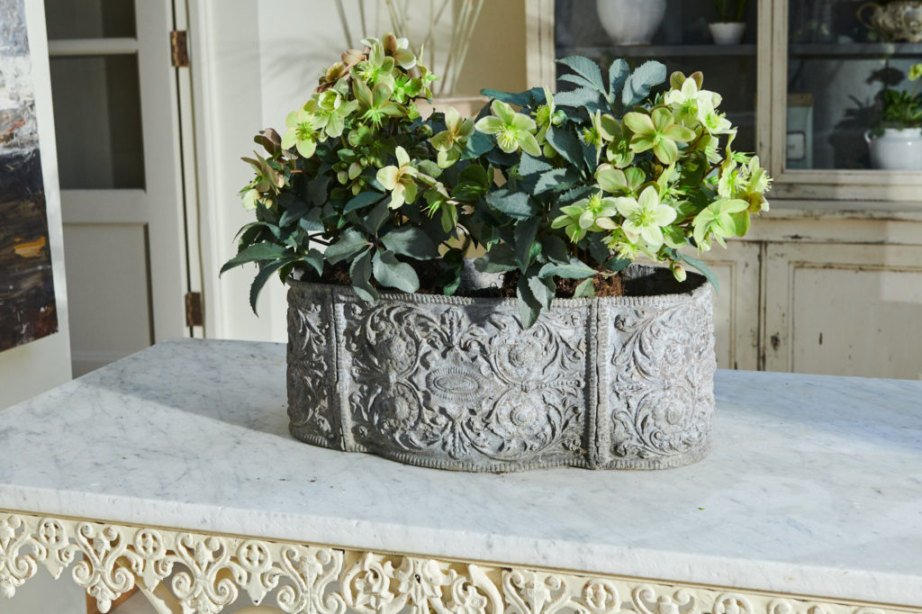 18th Century Lead Planter