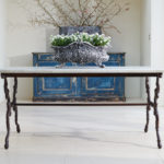 19th Century Cast Iron Table-1
