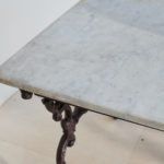 19th Century Cast Iron Table-8