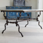 19th Century Cast Iron Table