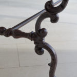 19th Century Cast Iron Table-6