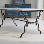 19th Century Cast Iron Table-2