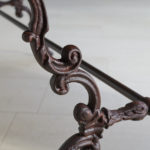 19th Century Cast Iron Table-5