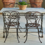 French Garden Table and Chairs-4