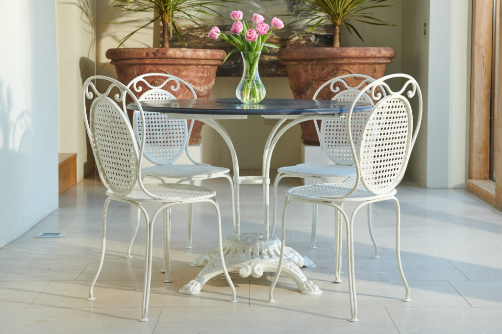Bluestone Table and Chairs