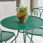 Faux Bamboo Bistro Set-2