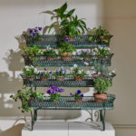4 Tier Green Plant Stand-1