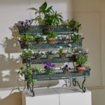 4 Tier Green Plant Stand