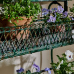 4 Tier Green Plant Stand-4