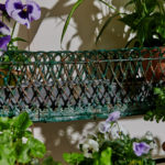 4 Tier Green Plant Stand-7