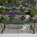 4 Tier Green Plant Stand-2