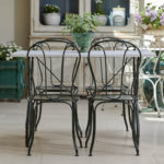 Swan Neck Table and Chairs-2