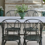 Swan Neck Table and Chairs-7