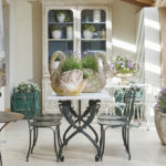 Swan Neck Table and Chairs